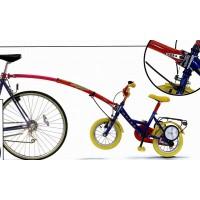 """Крепление для детск. вело 12-20"""" к подсед. штырю до 32кг красное (5) инд. уп. TRAIL-GATOR"""