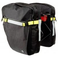"""Сумка 8-15000020 """"штаны"""" на багаж. A-N Tramp 42 """"2в1"""" V=2*21л водонепрониц. черно-желтая AUTHOR"""