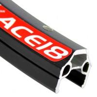 """Обод 26"""" двойн. с инд. износа (559х21,8/16,5х18,2мм 32отв.) 460г черный(10) ACE18 ALEXRIMS"""