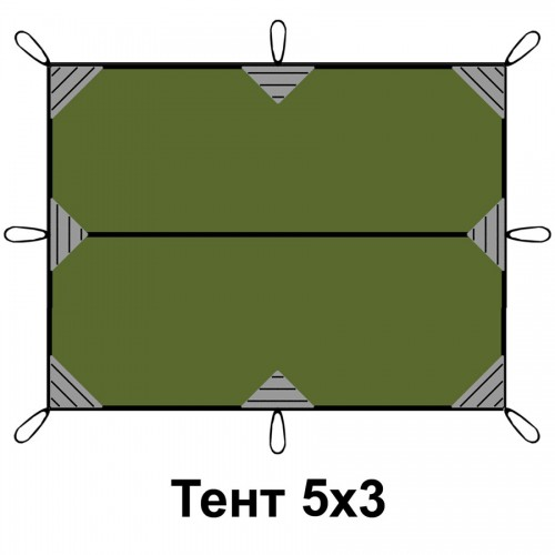 Тент 3*5м