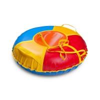Надувные санки ватрушки «Сноу» ПВХ 90