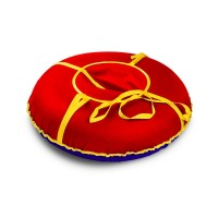 Надувная ватрушка«Сноу» Oxford 90 Красная