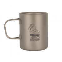 Титановая термокружка NZ Ti Double Wall Mug 450 ml