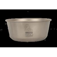 Титановая пиала NZ Ti Bowl 550 ml