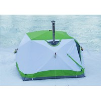 Зимняя палатка Лотос Куб 4 Компакт Термо