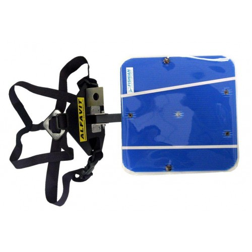 Планшет для ориентирования на лыжах Alfavit FISHIAN с креплением компаса