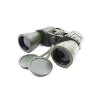 Бинокль 10х50, зеленый-защитный, 180*65*185 мм, 839 г, в чехле