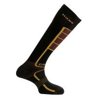 317 Carving носки, 12/6- чёрный/коричн
