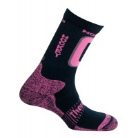 321 Nordic skating / hockey носки, 19- синий/розовый