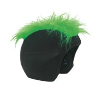 S074 Furry green нашлемник
