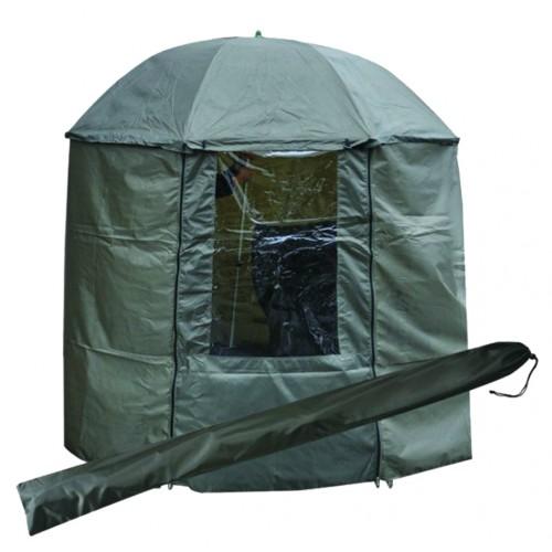 Зонт рыболовный 200 см с пологом